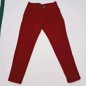 Zara TRF Red Pants